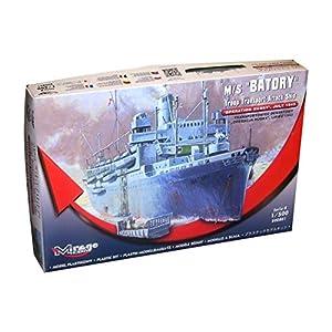 Mirage Hobby 500801-Maqueta de m/s batory Troop Transporter de Attack Ship