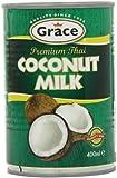 Grace Premium Coconut Milk 400 ml (Pack of 12)