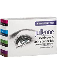 JULIENNE EYEBROW AND EYELASH TINTING KIT 4 COLOURS