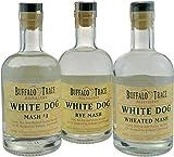 Buffalo Trace Collection White Dog 3 x 0,375l (Rye Mash 62.5%, Mash#1 62.5%, Wheated Mash 57%) - Whiskey