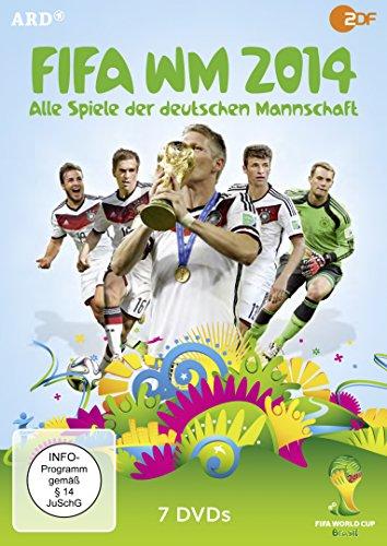 fussball dvd FIFA WM 2014 - Alle Spiele der deutschen Mannschaft [7 DVDs]