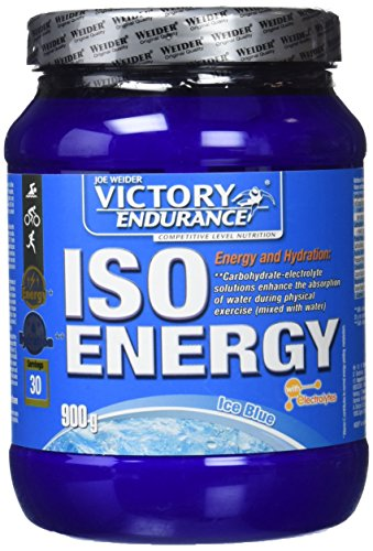 Weider Victory Endurance ISO Energy Ice Blue, Complemento nutricional, sabor menta (Ice Blue), 900 gr