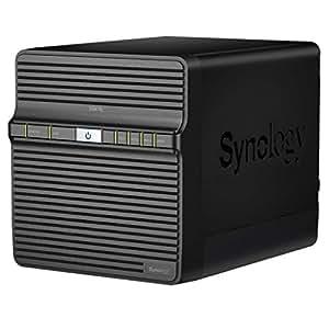 Synology Diskstation DS416J 4-bay NAS server, DS416J (4-bay NAS server w/1.3GHz DualCore, 512MB RAM, 1xGbE, 1xUSB2 & 1xUSB3)