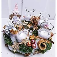 Adventskranz Weihnachtskranz kleine Elfe