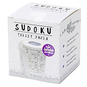 Sudoku Klopapier Sudoko Fun Toilettenpapier mit Sodoko Rätseln