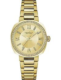 Caravelle New York Dress Mujer Reloj 44l225