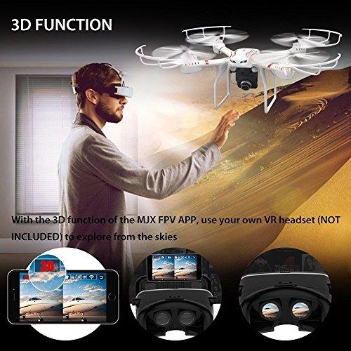 VROO 3D VR Virtual Reality Google Cardboard Headset 3D VR Brille Cardboard für 3D Filme und Spiele / Kompatibel mit Smartphones von 4 bis 6 Zoll / Apple iPhone / Samsung Galaxy / S6 S7 Edge Plus, iphone SE 6 6s Google Pappkarton Oculus Rift Head Mounted Stirnband - 4