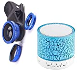 Starford 3-in-1 Clip-On Cell Phone Camera Lens Kit Fish Eye, Wide Angle, Micro