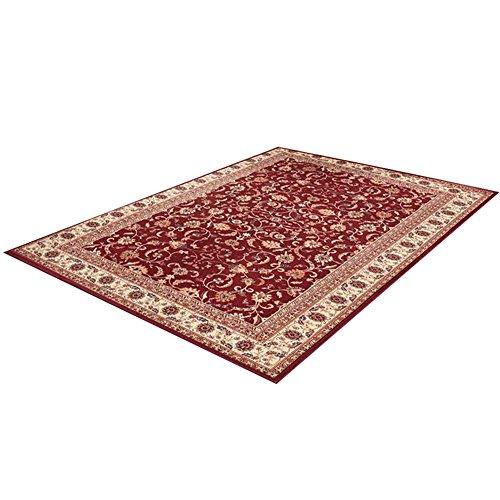 Gran área alfombra estilo persa clásico floral tradicional rectangular Full piezas alfombrilla de suelo alfombra para sala de estar sofá mesa de café Dormitorio mesilla, D, 80 * 120cm