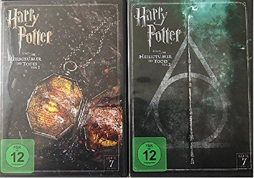 Bild von DVD Set * Harry Potter und die Heiligtümer des Todes - Teil 1+2 * 7.1+7.2
