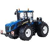 Britains - Tractor New Holland T9 565, color azul y negro (TOMY 43008)