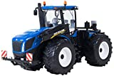 Britains - Tractor New Holland T9 565, Color Azul y Negro (Tomy 43008)