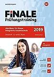 FiNALE Prüfungstraining Abschluss Integrierte Gesamtschule Niedersachsen: Deutsch 2019 Arbeitsbuch mit Lösungsheft