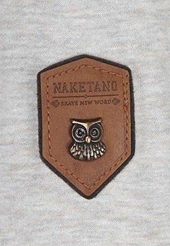 Naketano Female Sweatshirt Unterfickte Alte Stone Grey Melange, M Alter Sweatshirt