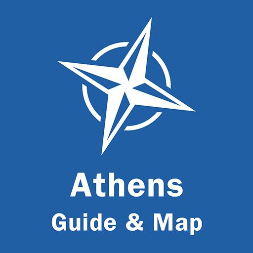 Athens Travel Guide & Offline Map