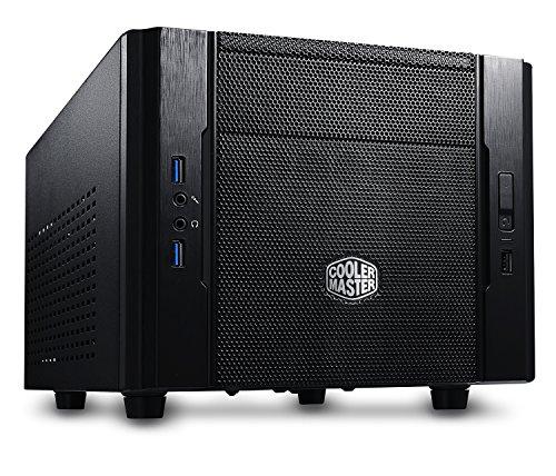 Cooler Master Elite 130 PC-Gehäuse 'Mini-ITX, USB 3.0, Seitliches Lochgitter' RC-130-KKN1