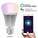 HEANTTV smart Licht,sonoff B1 führte Dimmbares Lampen,Mehrfarbige Farbe leuchten, die wifi Licht...