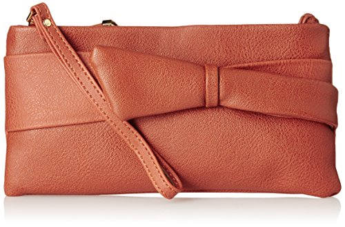 Caprese Women's Clutch (Orange)  available at amazon for Rs.1125