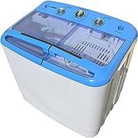 Syntrox Germany A + 5,2kg Machine à laver avec pompe et essoreuse Camping Machine à laver Mini machine à laver