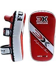 PROFESSIONAL CHOICE 3X Elección MMA Strike Shield de Entrenamiento Profesional Thai Pad Kick Boxing Punching Mitts,