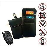Lalawo, scatola per schermare il segnale delle chiavi dell'auto, senza chiave, protezione per telefono cellulare, intercettatore RFID/WiFi/NFC, molto amichevole per le donne in gravidanza