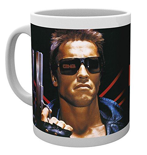 GB eye Ltd GB eye Limited The Terminator Ill Be Back with Image Mug, Multi-Colour