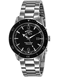 Rotary Analog Black Dial Men's Watch-GB90095/04