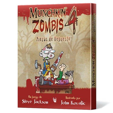 Edge Entertainment- Munchkin Zombis 4: Piezas de Repuesto - Español, Color (EESJMZ04)