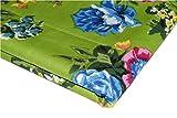 Ramdev Handicraft Stoff, 100% Baumwolle, grüner