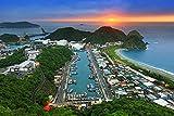 Sunrise View In Nanfang Ao Port Taiwan Home Decor Art Wall