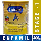 #4: Enfamil A+ Stage 1: Infant Formula (0 to 6 months) 400gm