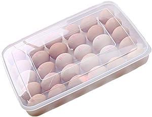 Kühlschrank Aufbewahrungsbox : Cdet transparent eierbox kunststoff mit deckel eierhalter große