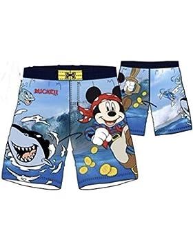 Mickey Mouse Badeshorts hellblau