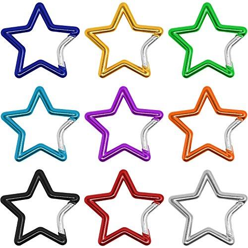 Matière mousqueton grande étoile 'Star'