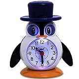 Kinderwecker - Wecker - Reisewecker - Uhr wahlweise Pinguin oder