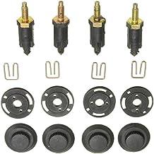 Sharplace Kit de 2.0 Hdi Cubierta de Motor Perno Clips y Tornillos de Citroen Coche
