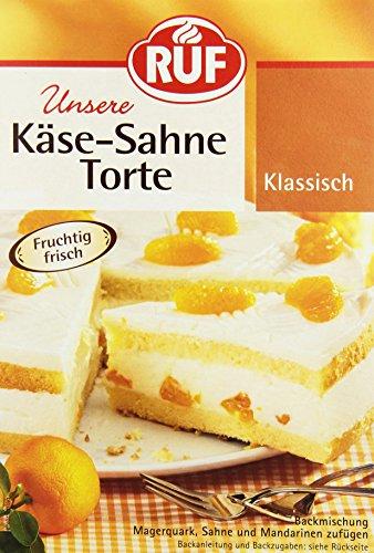 RUF Käse-Sahne Torte, 8er Pack (8 x 350 g)