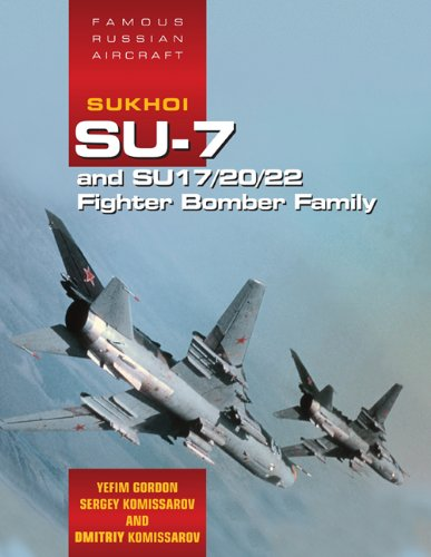 Famous Russian Aircraft: Sukhoi Su-7 and Su - 17/20/22 Fighter Bomber Family