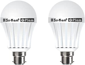 Su-Kam Fiem 7 W Rechargeable Emergency Bulb(Multicolour)