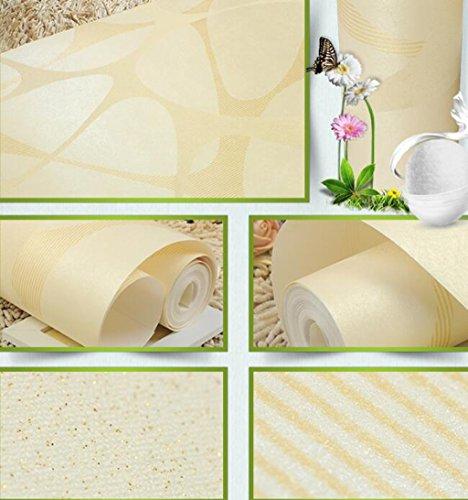 Sucastle®,Einfache moderne Schlafzimmer, Wohnzimmer Tapeten, Europäischen Vliestapeten (Sparkly Vorhänge Schlafzimmer)