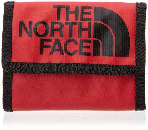 THE NORTH FACE Portafogli Base Camp, Rosso (Tnf Red/Black), 10 x 1 x 6 cm