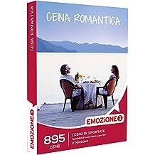 Emozione3 Cofanetto Regalo - CENA ROMANTICA - 895 cene romantiche da 3 portate con specialità di cucina tipica o gourmet