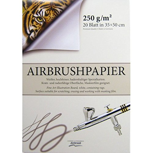Airbrush-Block 500 x 350 mm 170103 Premium Qualität Airbrushpapier