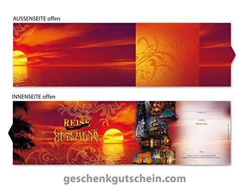 10 Stk. Premium Booklet Gutscheine für Reisebüros, Tourismus, Reiseveranstalter R701, LIEFERZEIT 2 bis 4 Werktage !