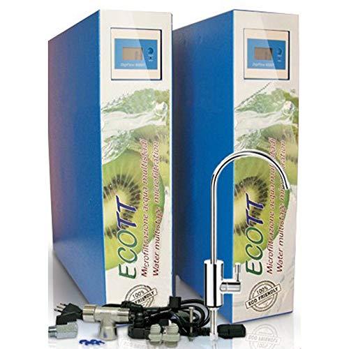 TermoidraulicaRV Hydraulik-Hydraulik-Hydraulik mit Filter Everpure 2DC und 11 W UV-System, Installationsset und Wasserhahn 1 Via enthalten. -