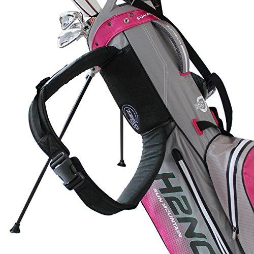 Sun Mountain 2017zero-g verstellbaren Golf Tasche Gürtel, schwarz, Med-Lge (94cm-127cm waist) -