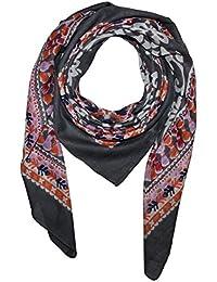 Superfreak® Baumwolltuch Geometrisches Muster ° Tuch ° Schal ° 100x100 cm ° 100% Baumwolle ° alle Farben!!!