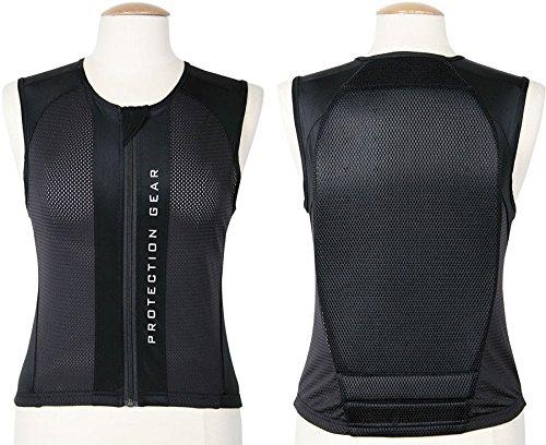 Rückenprotektor Gr. S schwarz Rückenschutz Sicherheitsweste Reiten angenehm zu tragen schwarz