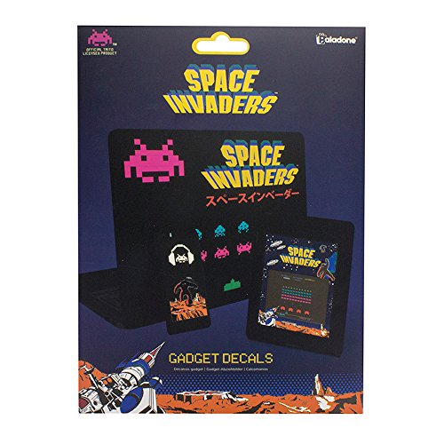 Space Invaders - Symbole - Aufkleber | 60er-Set | Arcade | Retro | Atari