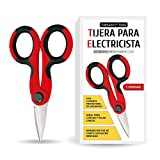 Tillmann's® Tijera Electricista - Tijeras Electricistas - Pelacables Electricista - Tijeras para cables